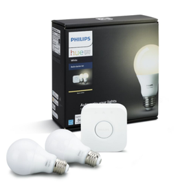 Philips HUE | A19 Smart LED Starter Kit - White | 458983