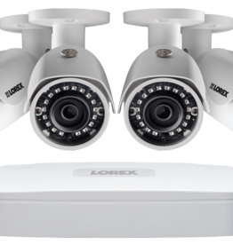 Lorex 2K IP Security Cameras System With 4 Channel NVR and 4 x 2K (3MP) IP Cameras HDIP44D