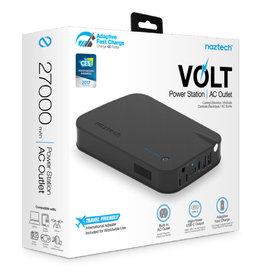 Naztech | 27000 mAh Black Volt Portable Power Bank 15-03123