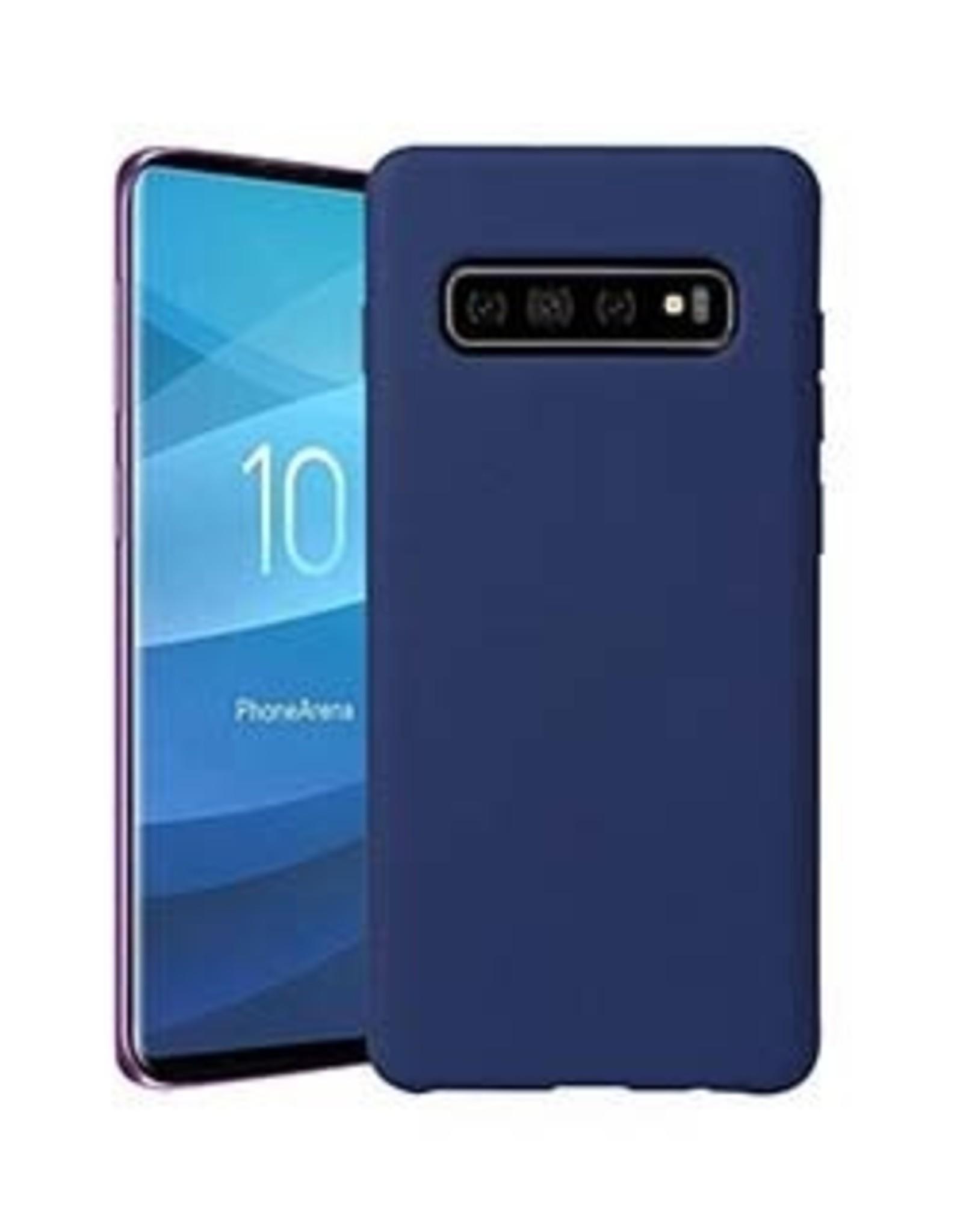 Uunique | Samsung Galaxy S10 Blue Liquid Silicone Case | 15-04651