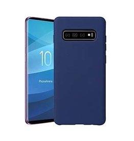 Uunique London Uunique | Samsung Galaxy S10 Blue Liquid Silicone Case | 15-04651