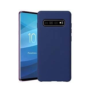 Uunique London Uunique   Samsung Galaxy S10 Blue Liquid Silicone Case   15-04651