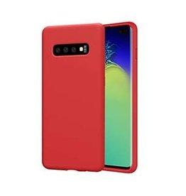 Uunique London Uunique | Samsung Galaxy S10 Red Liquid Silicone Case | 15-04650