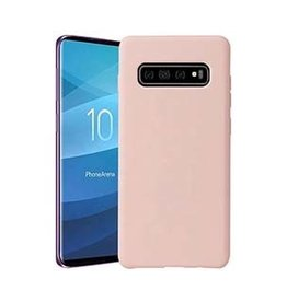 Uunique | Samsung Galaxy S10 Candy Pink Liquid Silicone Case | 15-04649