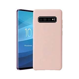Uunique London Uunique   Samsung Galaxy S10 Candy Pink Liquid Silicone Case   15-04649
