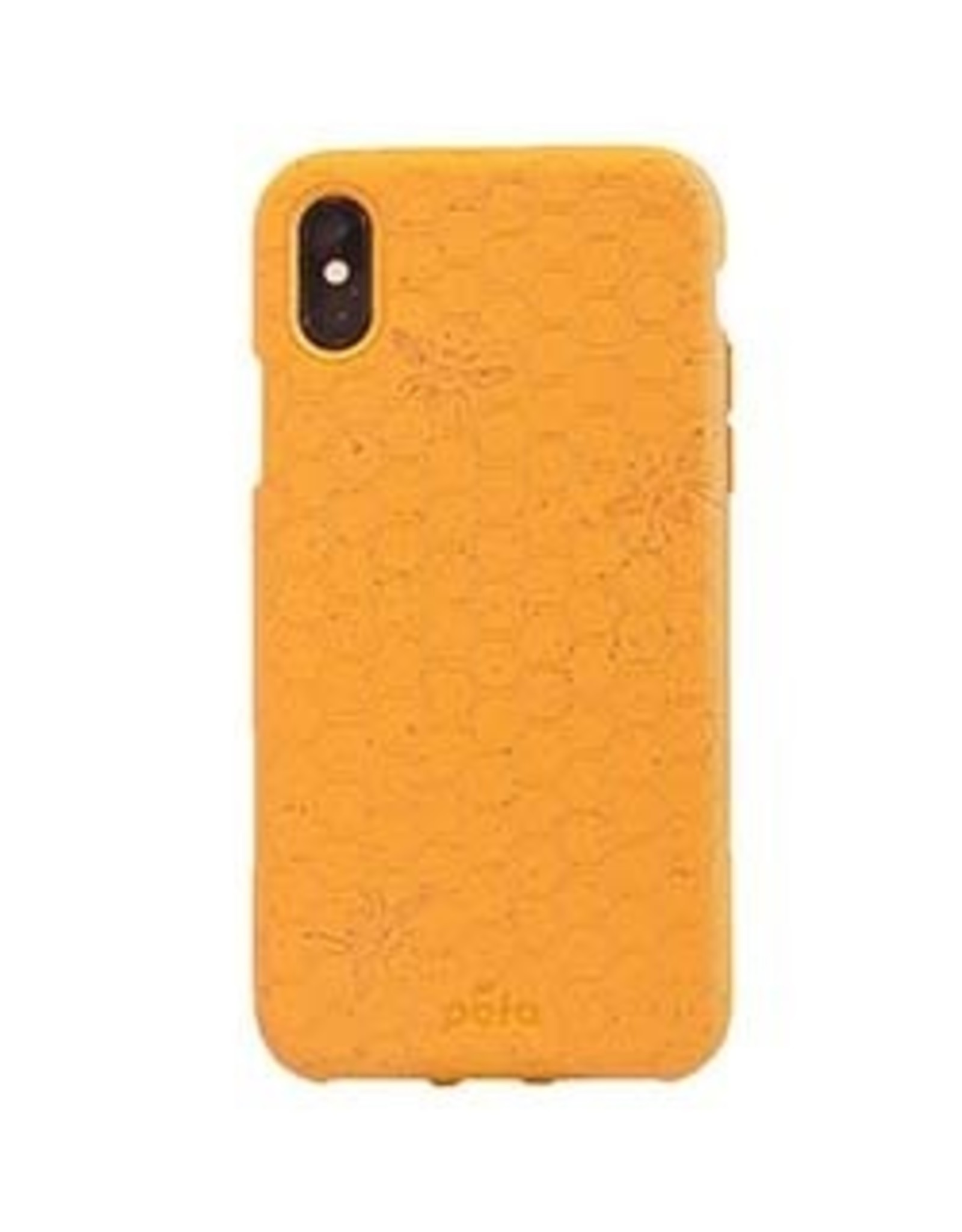 Pela Pela | iPhone Xs Max Yellow Honey Bee Edition Compostable Eco-Friendly Protective Case | 15-04743
