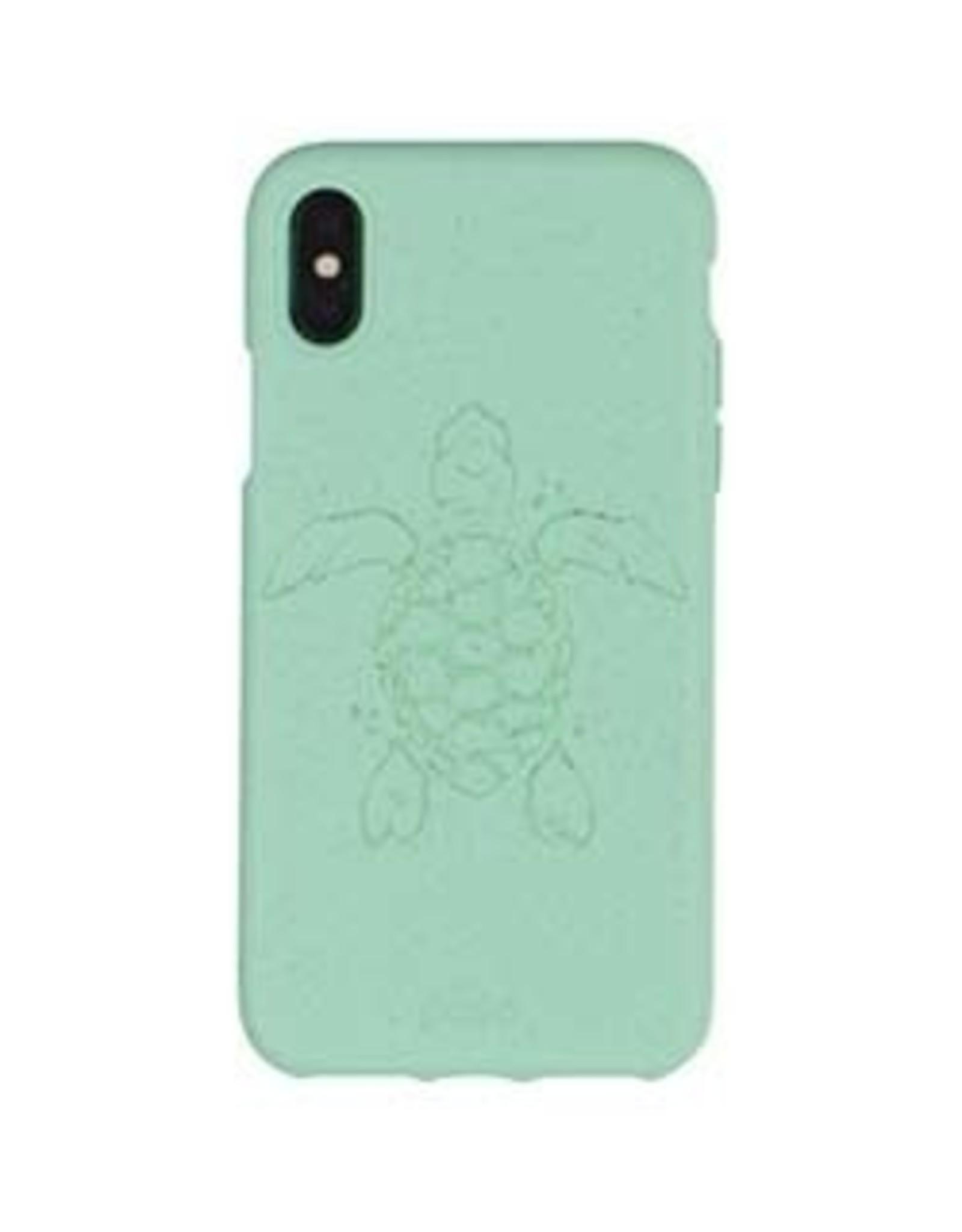 Pela Pela   iPhone X/Xs Turquoise Turtle Edition Compostable Eco-Friendly Protective Case   15-04741