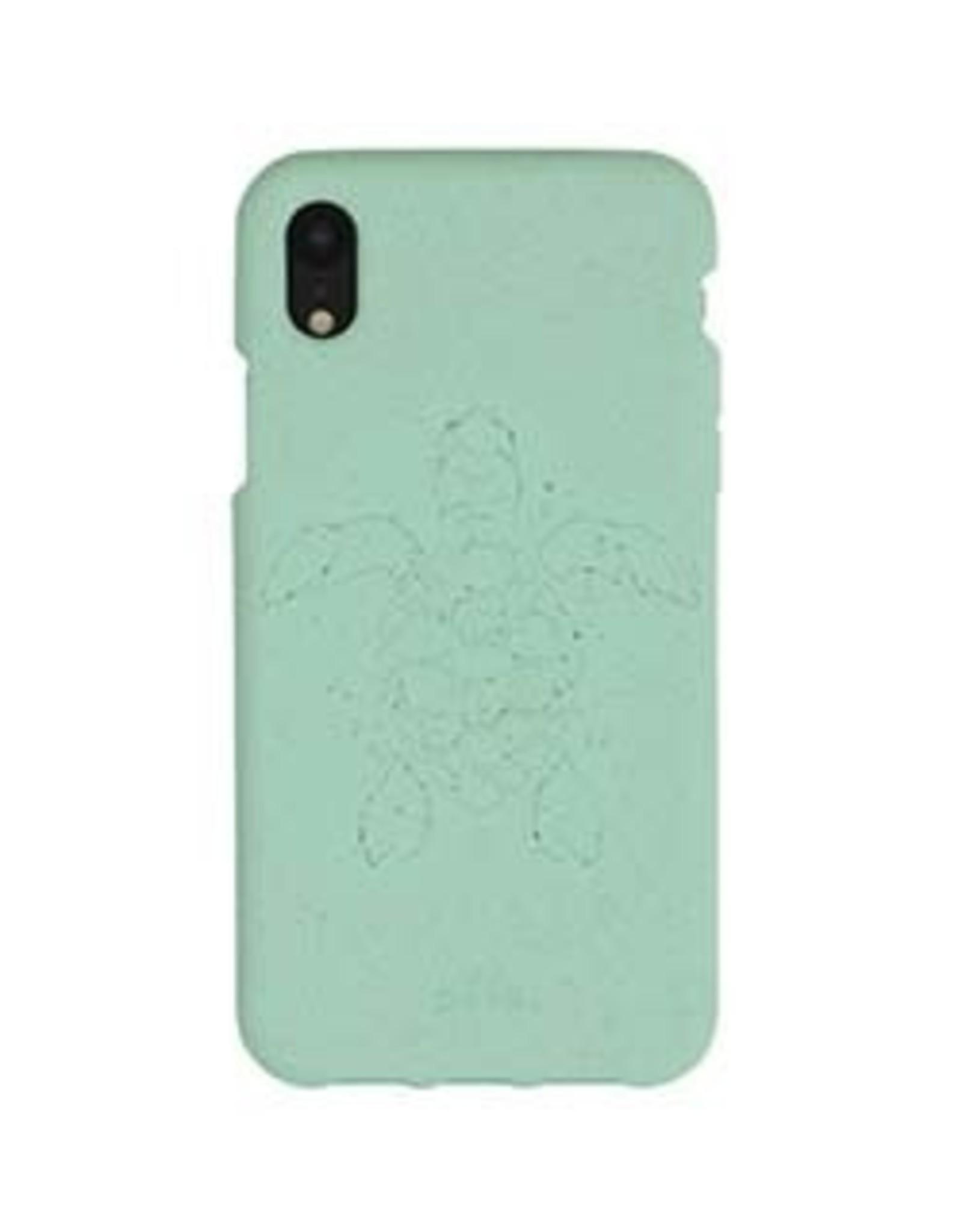 Pela Pela | iPhone XR Turquoise Turtle Edition Compostable Eco-Friendly Protective Case | 15-04739
