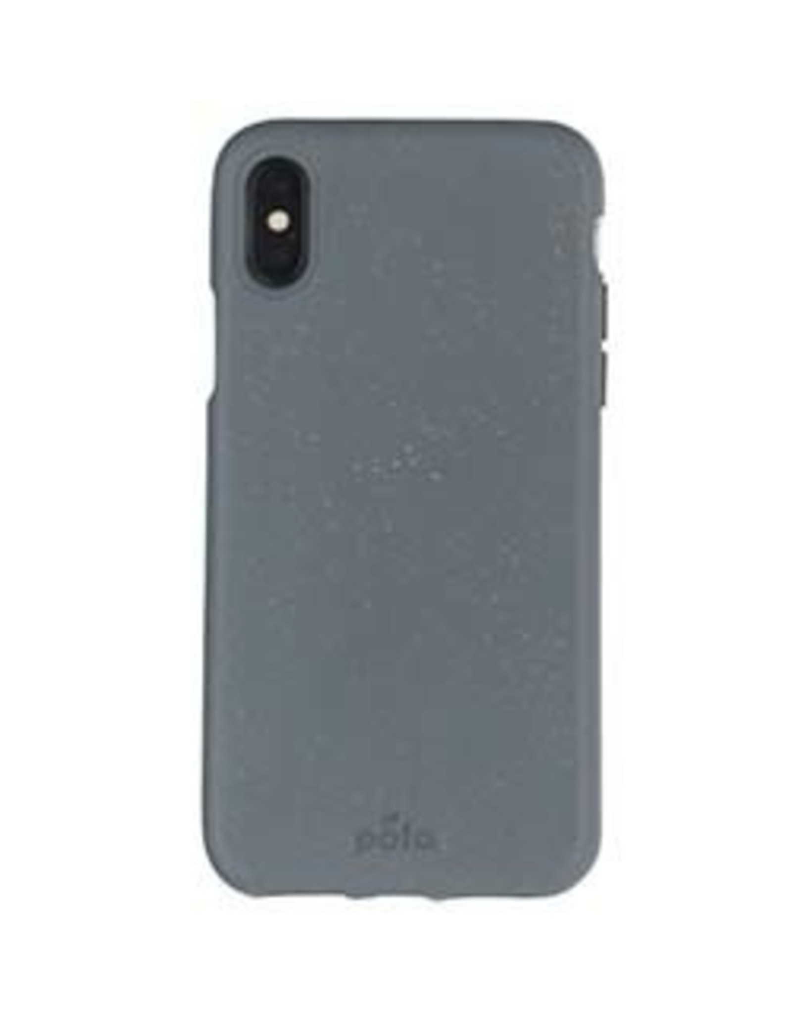 Pela Pela | iPhone Xs Max Grey (Shark Skin) Compostable Eco-Friendly Protective Case | 15-04722