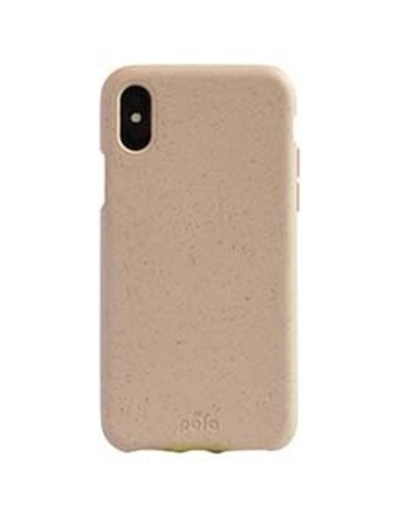 Pela Pela | iPhone Xs Max Pink (Sea Shell) Compostable Eco-Friendly Protective Case | 15-04721