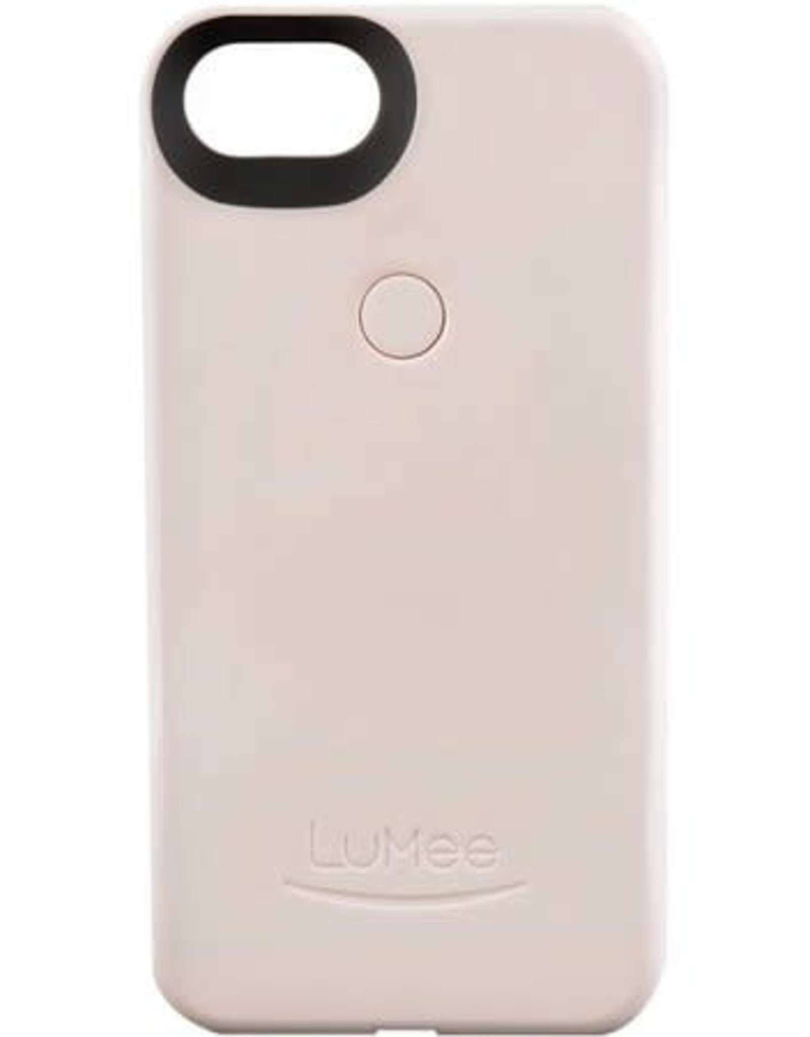 LuMee | iPhone 8/7/6/6s Two Illuminating Case Summer Blush | LM-L2-IP7-SMRBLSH