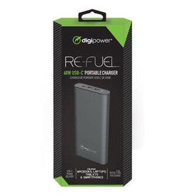 Refuel 26,000 MAH 2 USB A 1 USB C OUT 60W PD Powerbank