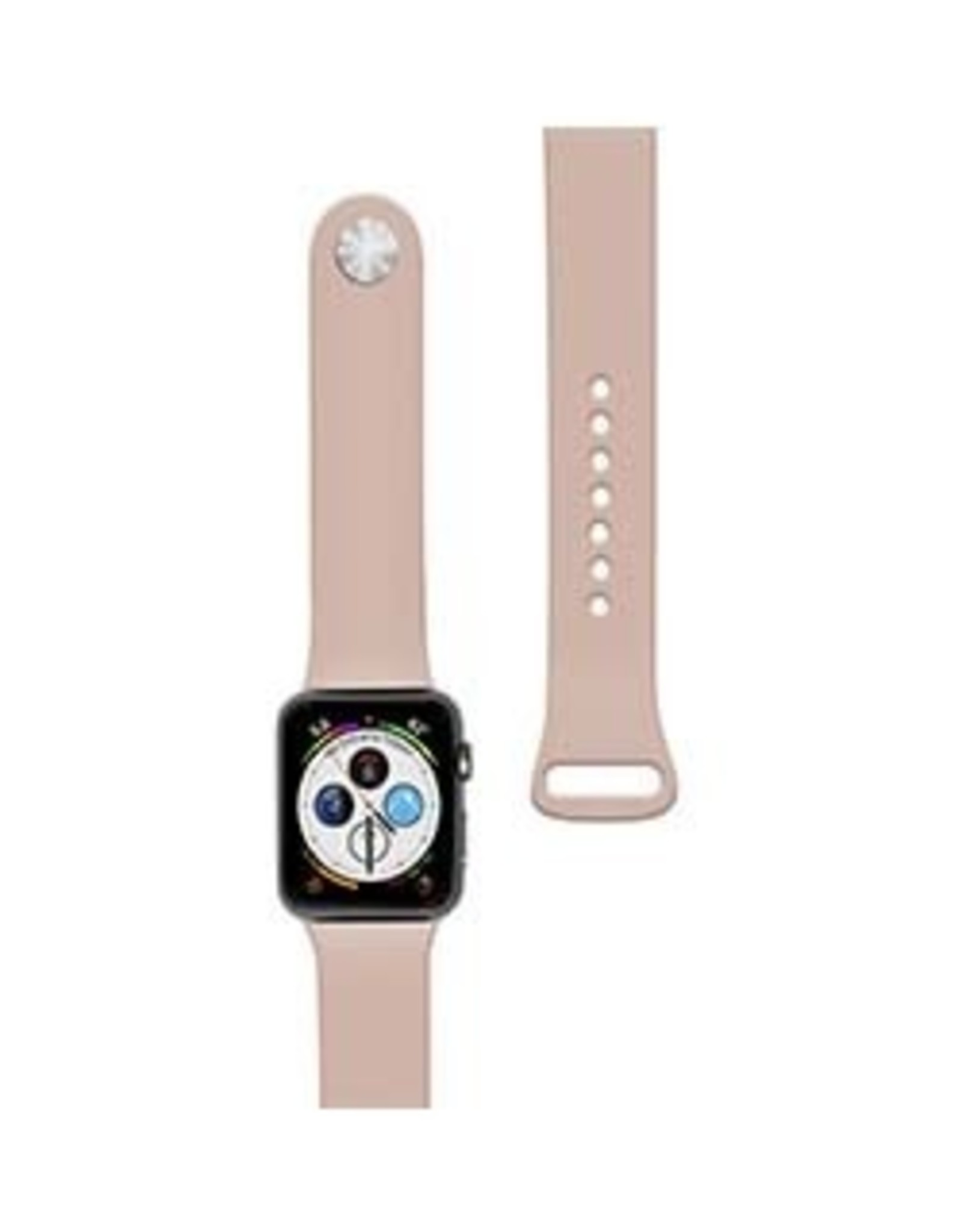 Naztech | Apple Watch 40/38mm Pink Silicone Watch Band 15-04550