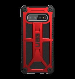 UAG UAG Samsung Galaxy S10+ Red/Black (Crimson) Monarch Series Case 15-03980