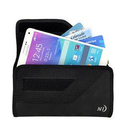 Universal Nite Ize Black Rugged Clip Case Sideways - XXL 15-00432