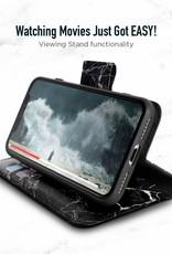 Caseco Caseco | iPhone X/Xs Marble Wallet Folio Case Black | C3610-01