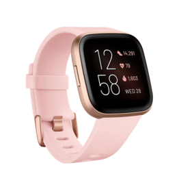 Fitbit Fitbit | Versa 2 Copper Rose with Petal Pink Band | FB507RGPKFRCJK