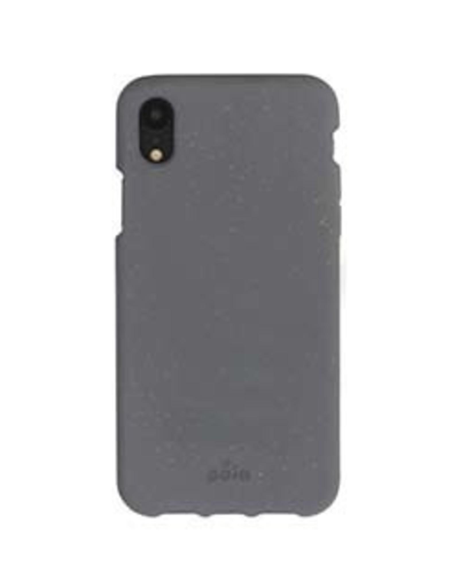 Pela Pela   iPhone XR Grey (Shark Skin) Compostable Eco-Friendly Protective Case 15-04714