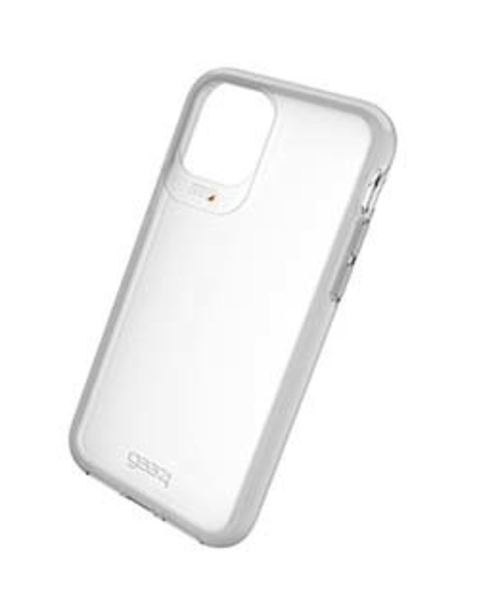 GEAR4 GEAR4   iPhone 11 Pro D3O Clear/Light Grey Frost Hampton Case 15-04820