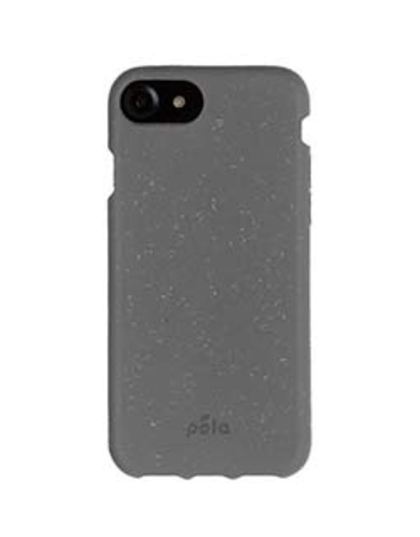 Pela iPhone 8 Plus/7 Plus/6S Plus/6 Plus Pela Grey (Shark Skin) Compostable Eco-Friendly Protective Case
