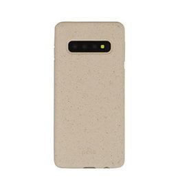Pela Samsung Galaxy S10 Pela Pink (Sea Shell) Compostable Eco-Friendly Protective Case