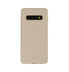 Pela Samsung Galaxy S10+ Pela Pink (Sea Shell) Compostable Eco-Friendly Protective Case