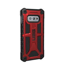 UAG UAG   Samsung Galaxy S10e  Red/Black (Crimson) Monarch Series Case 15-03977