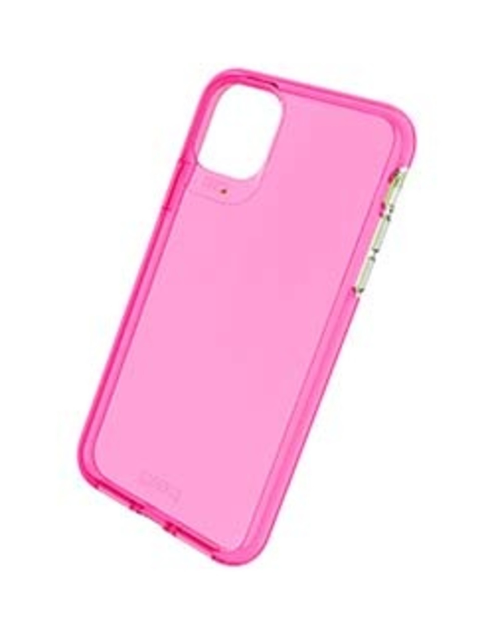 GEAR4 GEAR4 | iPhone 11 Pro Max  D3O Pink Crystal Palace Neon Case 15-04786