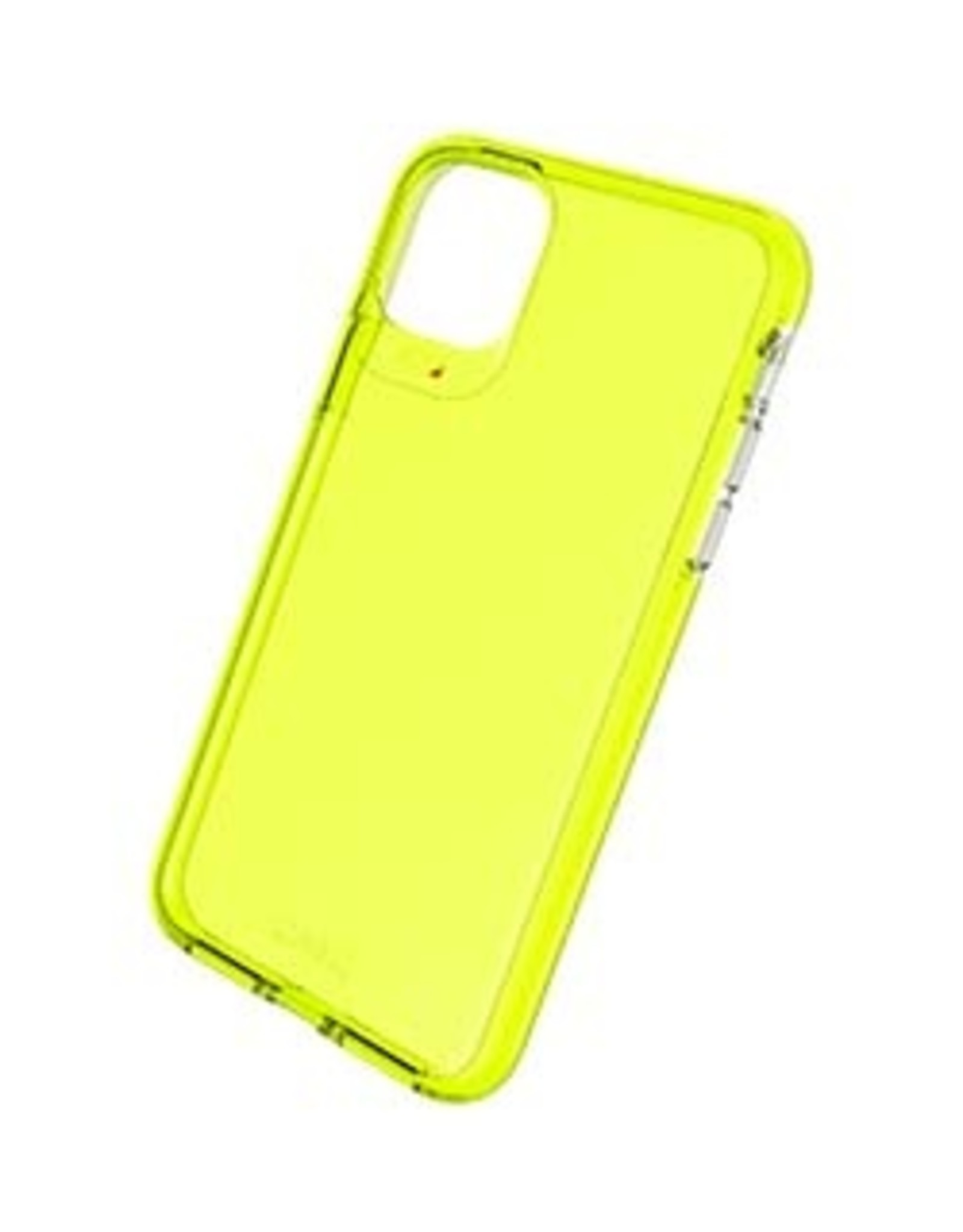GEAR4 GEAR4 | iPhone 11 Pro Max  D3O Yellow Crystal Palace Neon Case 15-04787
