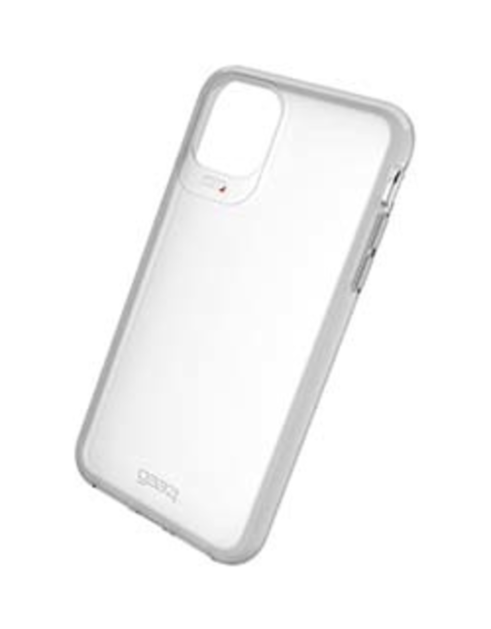 GEAR4 GEAR4  iPhone 11 Pro Max  D3O Clear/Light Grey Frost Hampton Case 15-04832