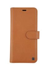 Samsung Galaxy S9 Uunique Tan Genuine Leather 2-in-1 Detachable Folio Case 15-04356