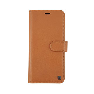 Uunique London Samsung Galaxy S9 Uunique Tan Genuine Leather 2-in-1 Detachable Folio Case 15-04356