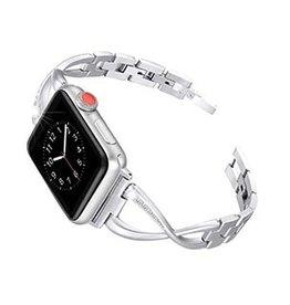Uunique London Apple Watch 40/38mm Uunique Silver Elire Watch Band 15-04429
