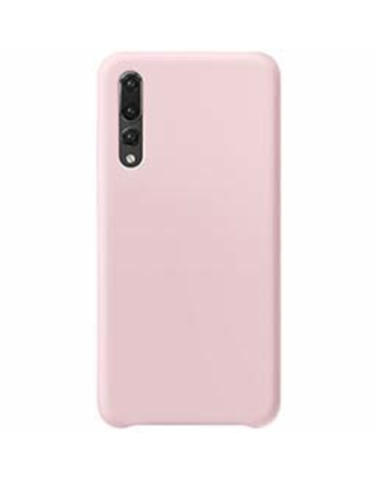 Huawei P30 Uunique Candy Pink Liquid Silicone Case 15-04666