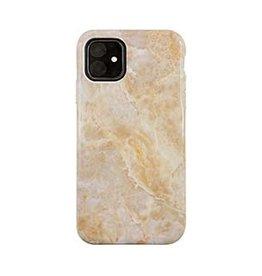 Uunique London | iPhone 11  Beige (Beige Marble) Nutrisiti Eco Printed Marble Back Case 15-05117