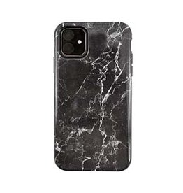 Uunique London | iPhone 11  Black (Midnight Marble) Nutrisiti Eco Printed Marble Back Case 15-05115