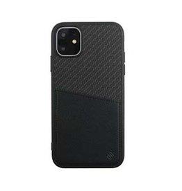 Uunique London | iPhone 11  Black Carbon Pocket Case 15-05054