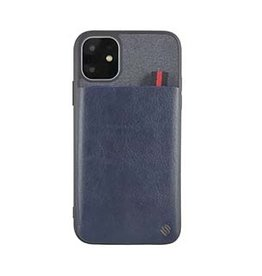 Uunique London | iPhone 11  Blue Essex Pocket Case 15-05055