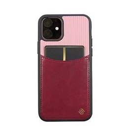Uunique London | iPhone 11  Pink Rosette Pocket Case 15-05057