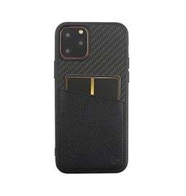 Uunique London | iPhone 11 Pro  Black Carbon Pocket Case 15-05049