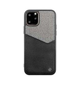 Uunique London | iPhone 11 Pro  Black/Grey Reflect Pocket Case 15-05053