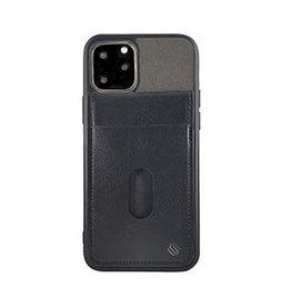 Uunique London | iPhone 11 Pro  Grey/Black Westminster Flip Pocket Case 15-05051