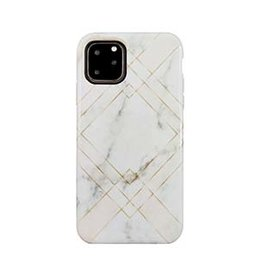 Uunique London | iPhone 11 Pro  Pink (Geometric Marble) Eco Printed Back Case 15-05034