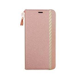 Uunique London | iPhone 11 Pro  Pink (Summer Pink) Saffiano Flower Folio Case 15-05074