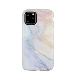 Uunique London | iPhone 11 Pro  Purple/Pink (Opulent Marble) Nutrisiti Eco Printed Marble Back Case 15-05035