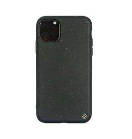 Uunique London | iPhone 11 Pro Max  Black (Black Olive) Nutrisiti Eco Back Case 15-05028