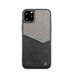 Uunique London | iPhone 11 Pro Max  Black/Grey Reflect Pocket Case 15-05063