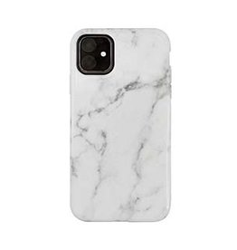 Uunique London | Uunique London | White/Gold (White Marble) Nutrisiti Eco Printed Marble Back Case 15-05042