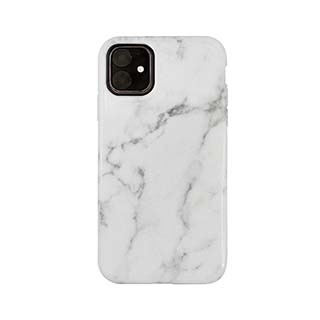 Uunique London Uunique London | Uunique London | White/Gold (White Marble) Nutrisiti Eco Printed Marble Back Case 15-05042