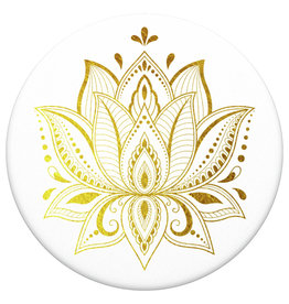 Popsockets PopSockets | PopGrip (complete swappable PopGrip) Golden Prana 123-0029